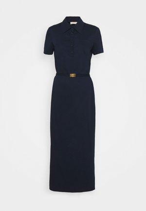 POLO DRESS - Vestito lungo - navy