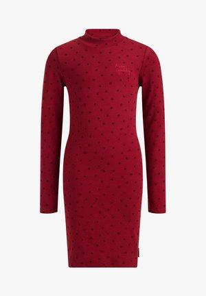 MET STIPPENDESSIN - Pouzdrové šaty - vintage red