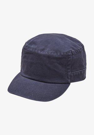 MET GEWASSEN EFFECT - Cap - dark blue