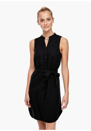MIT GÜRTEL - Day dress - black