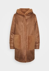 YASSERA REVERSIBLE COAT  - Classic coat - tawny brown