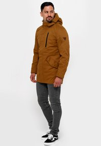 INDICODE JEANS - Parka - rubber - 1