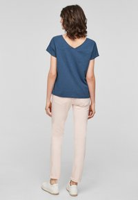 s.Oliver - Print T-shirt - faded blue - 2