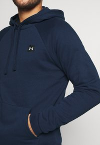 Under Armour - RIVAL  - Hoodie - academy/onyx white - 5