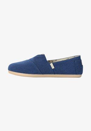 CLASSIC - Mocassins - blue