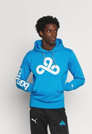 GRAPHIC HOODIE - Sweatshirt - bleu azur