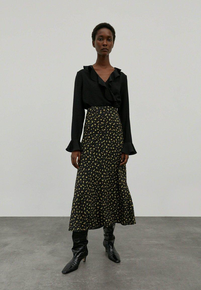 EDITED - MERCY - A-line skirt - grasgrün