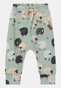Walkiddy - BAGGY LAMB UNISEX - Trousers - green - 0