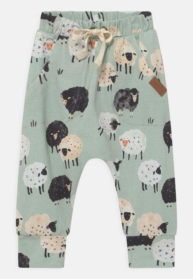 BAGGY LAMB UNISEX - Trousers - green