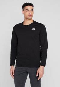 The North Face - MENS EASY TEE - Langarmshirt - black - 0