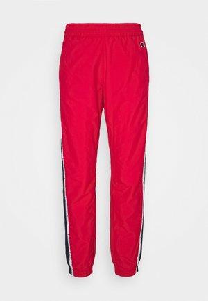 ELASTIC CUFF PANTS ROCHESTER - Pantalon de survêtement - red