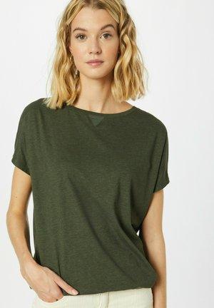 T-shirt basic - dunkelgrün
