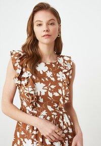 Trendyol - Maxi dress - brown - 2