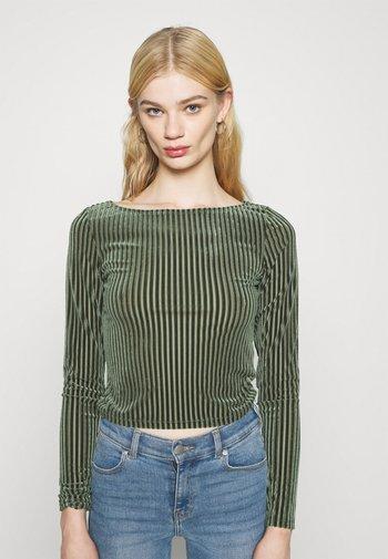 ULLE - Long sleeved top - khaki green