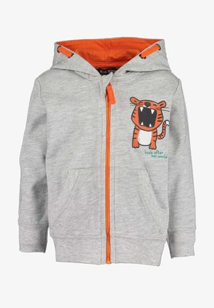 KEEP US WILD - Zip-up hoodie -  nebel