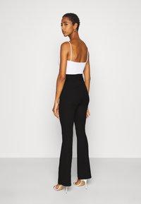 Even&Odd Tall - FLARE PANT - Leggings - black - 2