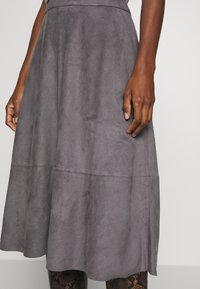 Esprit Collection - LINE SKIRT - A-line skirt - taupe - 4