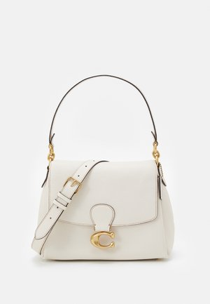 SOFT PEBBLE MAY SHOULDER BAG - Kabelka - chalk