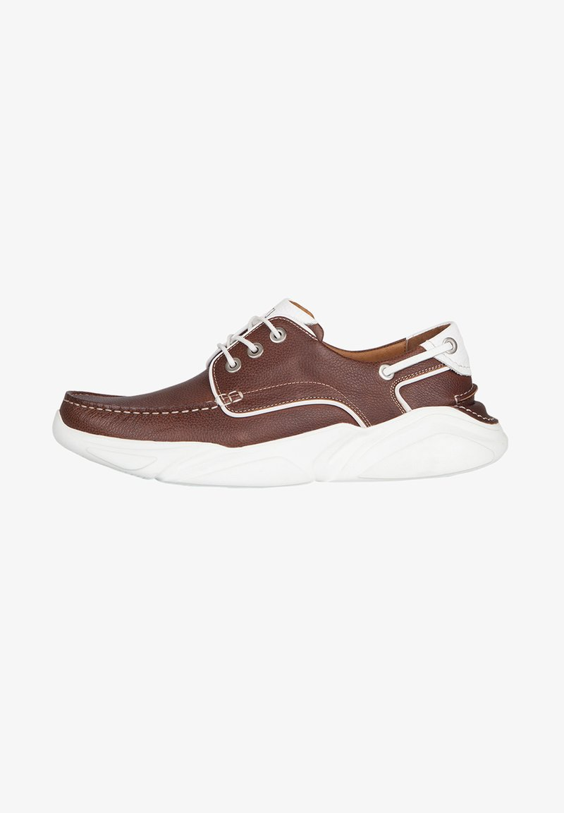 TJ Collection - Boat shoes - tan