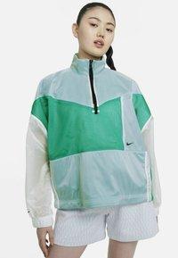 Nike Sportswear - W NSW TCH PCK - Windbreaker - neptune green/white/black - 0
