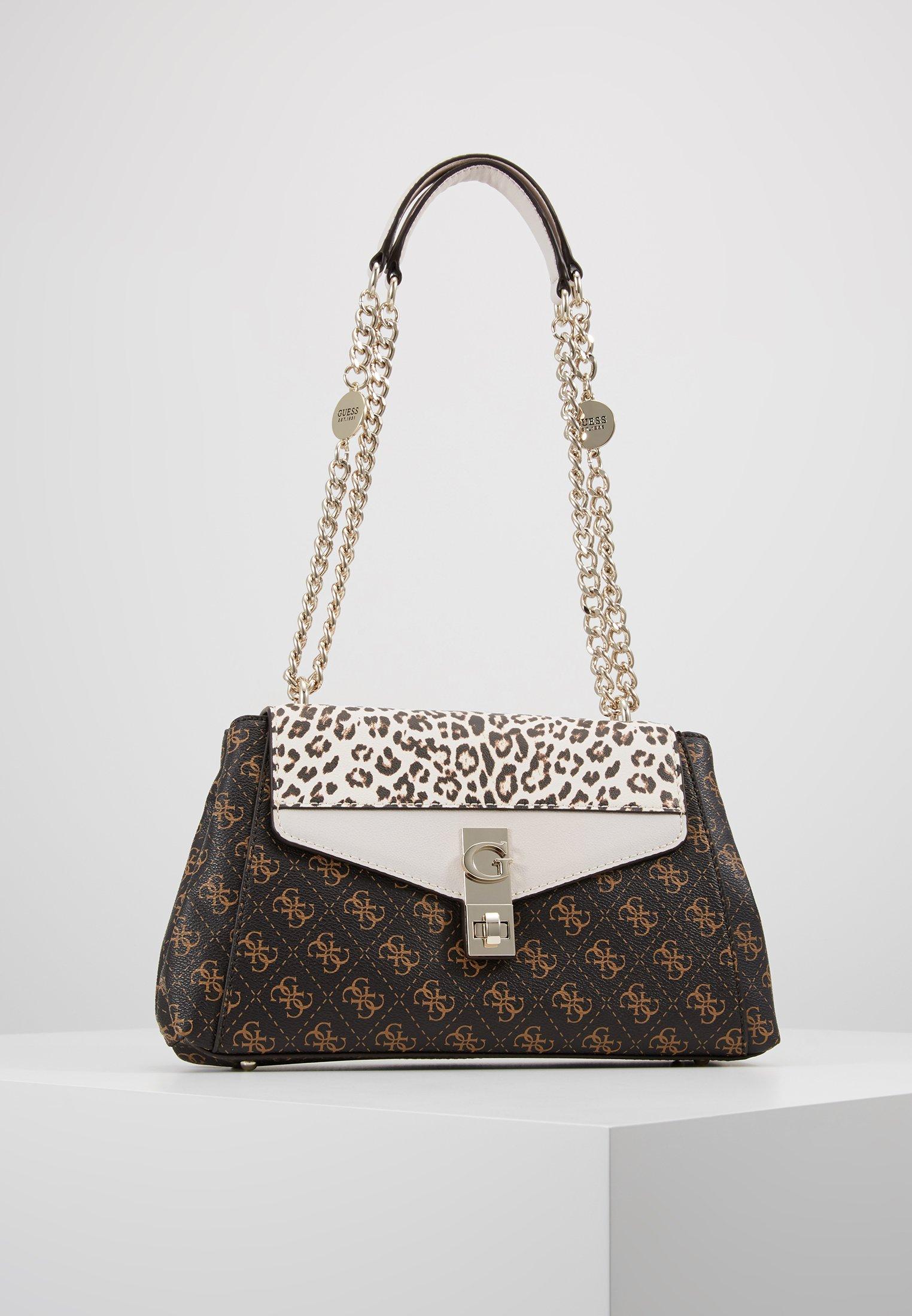 LORENNA SHOULDER BAG Handväska brown