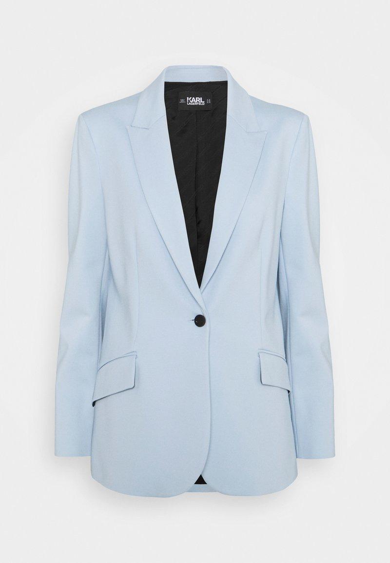 KARL LAGERFELD - SUMMER PUNTO JACKET - Blazer - light blue