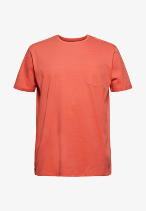 Basic T-shirt - coral red