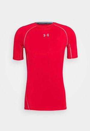 Print T-shirt - red/grey