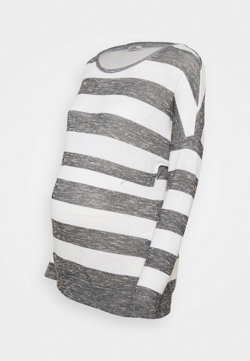 LOVE2WAIT - NURSING STRIPED - Sweatshirt - black