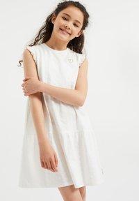 WE Fashion - Korte jurk - white - 0
