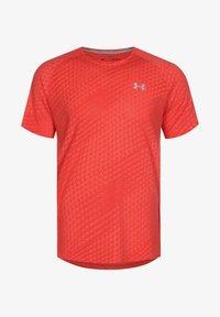 Under Armour - STREAKER RUNCLIPSE  - Print T-shirt - red - 0