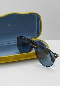 Gucci - Sunglasses - gold-coloured/blue - 3