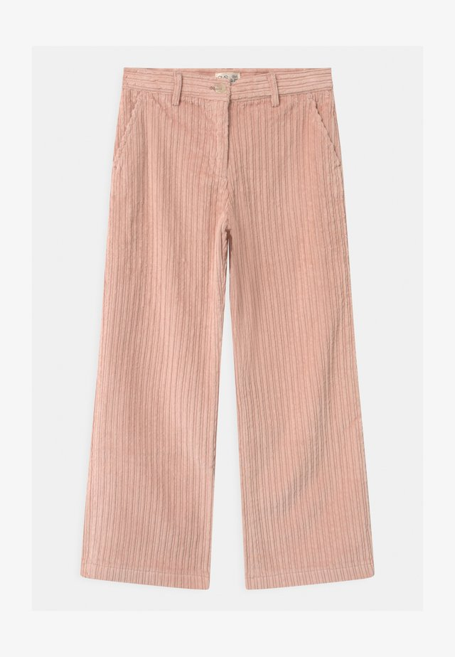 Trousers - cameo rose