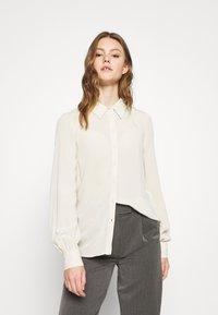 Vero Moda - VMNICOLETTE - Button-down blouse - oatmeal - 0