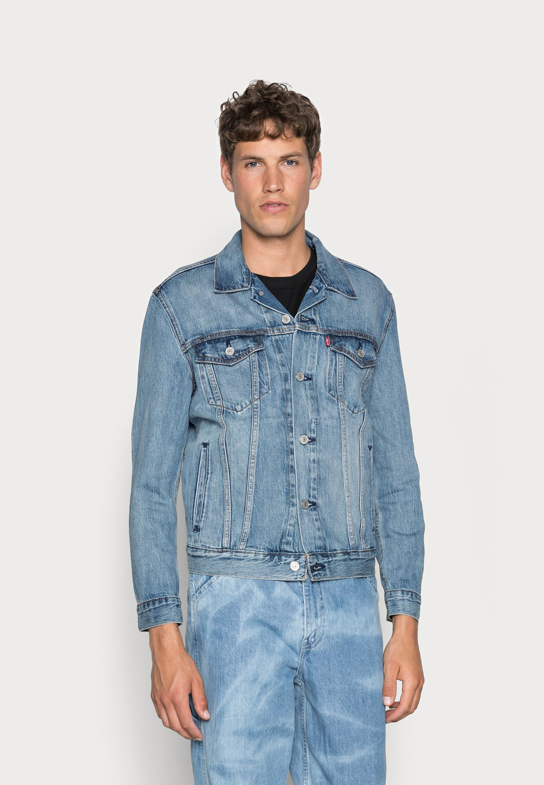 Uomo THE TRUCKER JACKET - Giacca di jeans