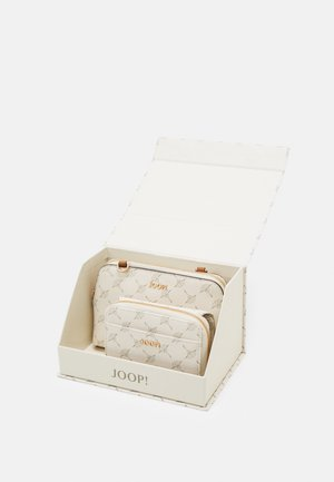 CORTINA VALERIA GIFT BOX SET - Peněženka - offwhite
