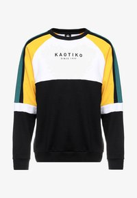 Kaotiko - Sweatshirt - black/white/yellow - 3