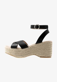 Simply Be - WIDE FIT TUSCANY - High heeled sandals - black - 1