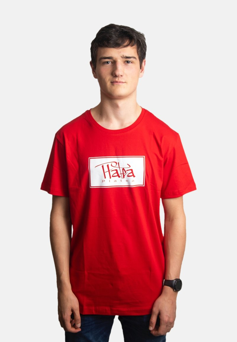 Platea - Print T-shirt - rot