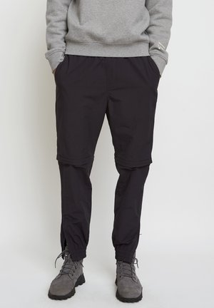 WOODWOOD 2IN1 HIKE PANT - Jogginghose - obsidian