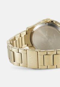 Armani Exchange - HAMPTON - Rannekello - gold-coloured - 1