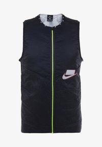 Nike Performance - WILD RUN AEROLAYER VEST - Chaleco - black/grey fog/reflective silver - 7
