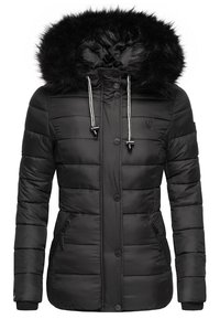 Navahoo - ZUCKERBIENE - Winter jacket - black - 3