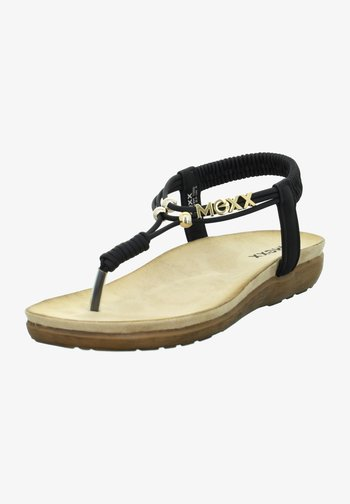 GRACELYN - T-bar sandals - schwarz
