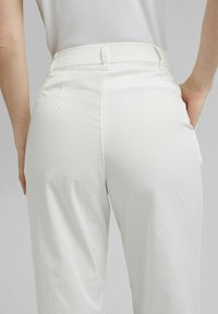 Esprit Collection - FASHION - Trousers - white - 5