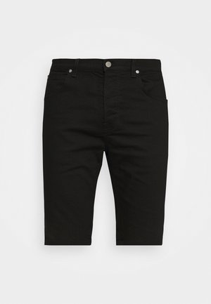 FIVE POCKET - Jeansshorts - clean black