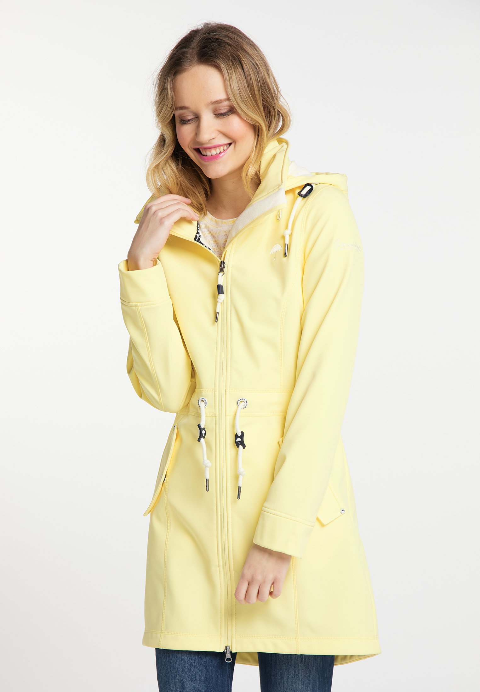 Schmuddelwedda Parka - light yellow | Damenbekleidung billig