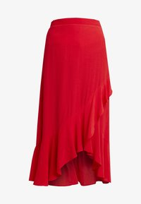 Dorothy Perkins - WRAP MIDI - Wrap skirt - red - 4