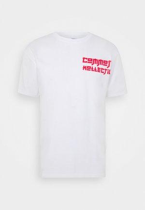 MANGA TEE UNISEX - T-shirt med print - white