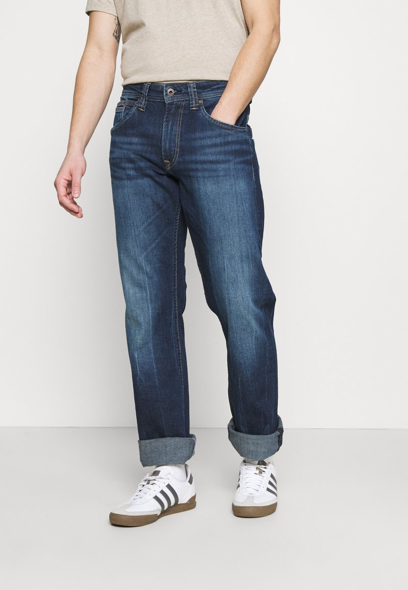 Pepe Jeans - NEW JEANIUS - Jeans Relaxed Fit - denim